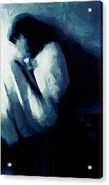 Sometimes We See No Way Out Acrylic Print by Gun Legler