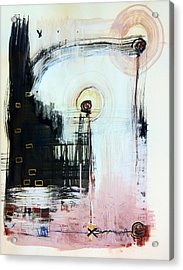 Somewhere Between Space And Time 5 Acrylic Print by Mark M  Mellon