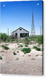Acrylic Print featuring the photograph Somewhere On The Old Pecos Highway Number 5 by Lon Casler Bixby