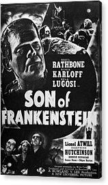 Son Of Frankenstein, 1939 Acrylic Print by Granger