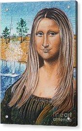 Sonamali Acrylic Print by Jim Barber Hove