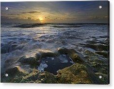 Song Of The Sea Acrylic Print by Debra and Dave Vanderlaan