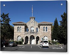 Sonoma City Hall - Downtown Sonoma California - 5d19265 Acrylic Print by Wingsdomain Art and Photography