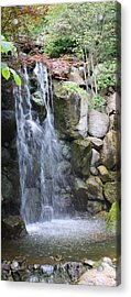Soothing Waterfall Acrylic Print by Bruce Bley
