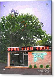 Soul Fish Acrylic Print by Lizi Beard-Ward