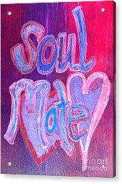 Soul Mate Acrylic Print