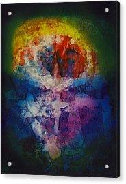 Soul Mirror Acrylic Print by Henry Rowland