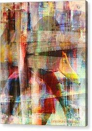 Soul Of A Bird Acrylic Print by Fania Simon