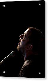 Soulful Singer - Ard Matthews Acrylic Print by Miguel Capelo