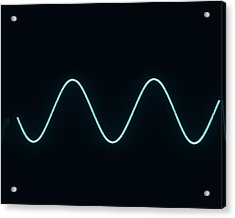 Sound Wave Acrylic Print by Andrew Lambert Photography