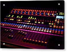 Soundboard Acrylic Print by Anthony Citro