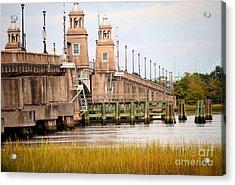 Acrylic Print featuring the photograph South Carolina Bridge by Tamera James