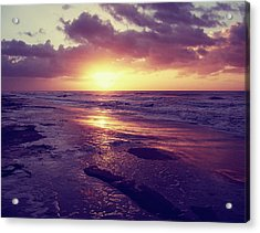 Acrylic Print featuring the photograph South Carolina Sunrise by Phil Perkins