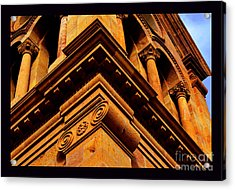 South Corner Of St. Francis Cathedral Acrylic Print by Susanne Still