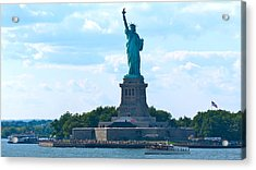 South Ferry Water Ride13 Acrylic Print by Terry Wallace