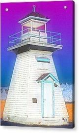 South Hamton Lighthouse 3 Acrylic Print by Cyryn Fyrcyd