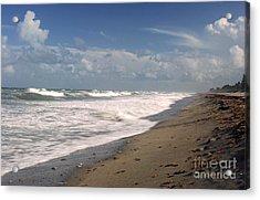 South Hobe Sound Beach Acrylic Print by Richard Nickson