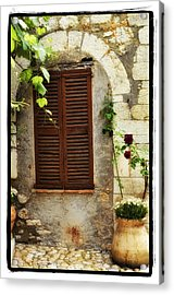 South Of France Acrylic Print by Mauro Celotti