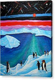 South Pole Acrylic Print