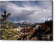 South Rim Bryce Canyon Acrylic Print by Butch Lombardi