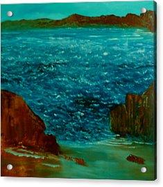 South Sea Acrylic Print by David Snider
