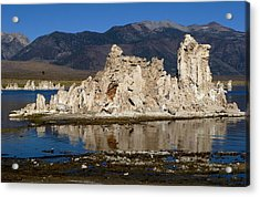 South Tufas And Eastern Sierra Nevada Acrylic Print