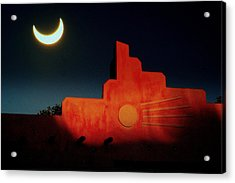 South West Eclipse.. Acrylic Print by Al  Swasey