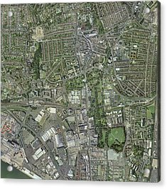 Southampton,uk, Aerial Image Acrylic Print by Getmapping Plc