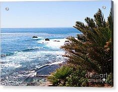 Southern California Coastline Photo Acrylic Print by Paul Velgos