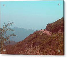 Southern California Mountains Acrylic Print