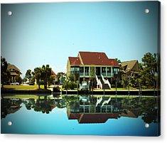 Southern Living Acrylic Print by Barry Jones