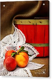 Southern Peaches Acrylic Print