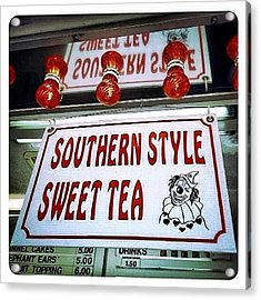 Southern Sweetness Acrylic Print