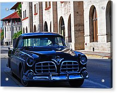 Southern Wheels Acrylic Print by Peter  McIntosh