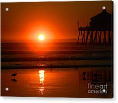 Acrylic Print featuring the photograph Southside by Everette McMahan jr