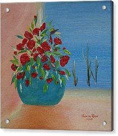 Southwestern 1 Acrylic Print by Judith Rhue