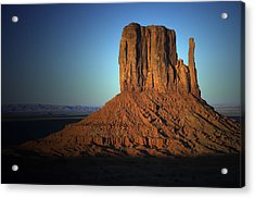 Acrylic Print featuring the photograph Southwestern Evening by Renee Hardison