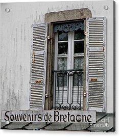 Acrylic Print featuring the photograph Souvenirs De Bretagne by Lainie Wrightson