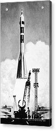 Soviet Soyuz Rocket, 1975 Acrylic Print by Granger