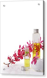 Spa Set With Copy Space Acrylic Print by Atiketta Sangasaeng