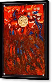 Space Abstraction-1 Acrylic Print by Anand Swaroop Manchiraju