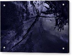 Space Dropping Acrylic Print by John Hansen