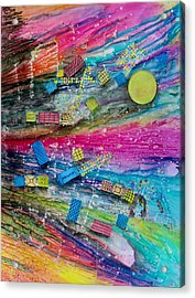 Space Junk Acrylic Print by David Raderstorf