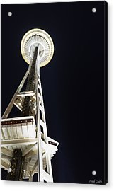 Space Needle Acrylic Print by Heidi Smith