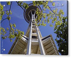 Space Needle Seattle Washington Acrylic Print by Ty Savell