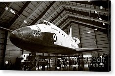 Space Shuttle Endeavour Acrylic Print by Nina Prommer