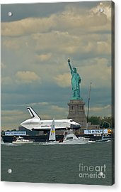 Space Shuttle Enterprise 2 Acrylic Print by Tom Callan