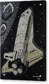 Space Shuttle Final Mission Acrylic Print