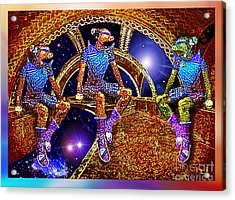 Space Travellers Acrylic Print