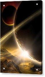 Space002 Acrylic Print by Svetlana Sewell